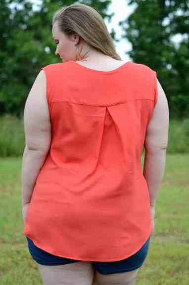 Rhapsody Blouse sleeveless