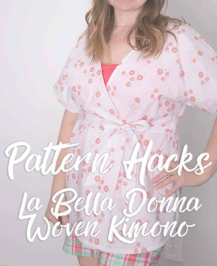 La Bella Donna Hack: The Woven Kimono