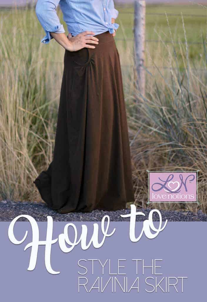 How to wear and style the Ravinia Skirt