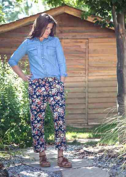 Allegro cropped pants