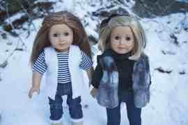 Free doll vest pattern