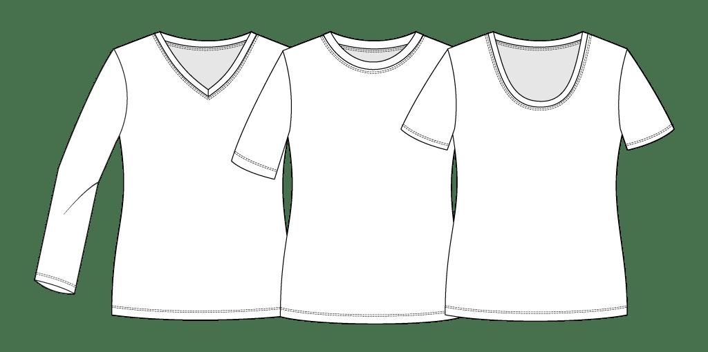Classic Tee pdf pattern