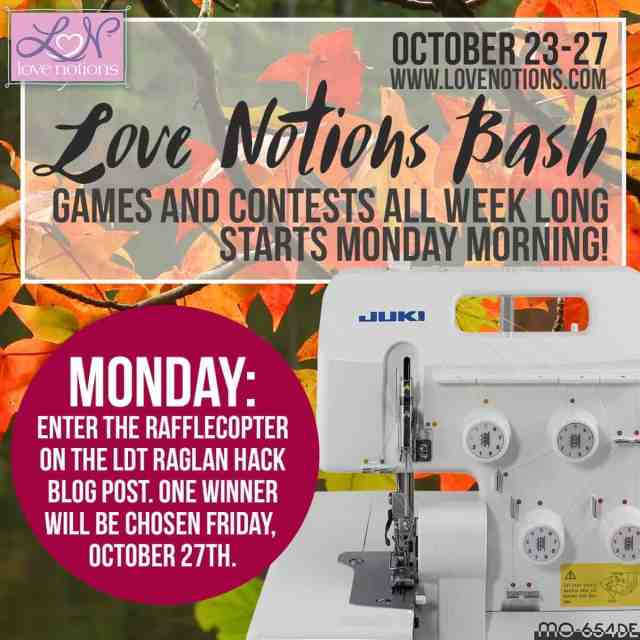 Monday Love Notions giveaway