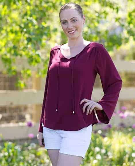 Rhapsody Blouse cover