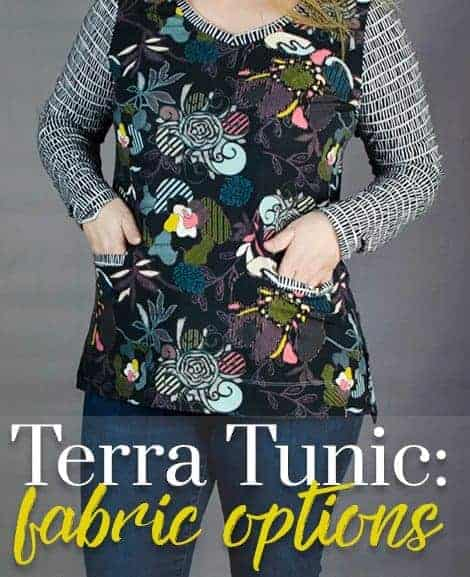 Best fabrics for a stunning Terra Tunic