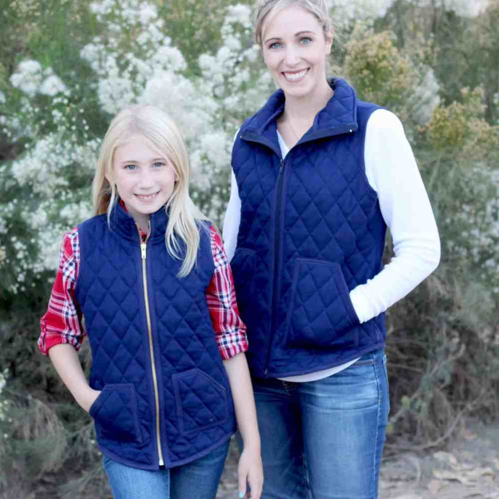 girls and ladies vest