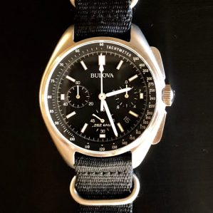 "Ranch Racer's Bulova ""Lunar Pilot"" (moonwatch people)"