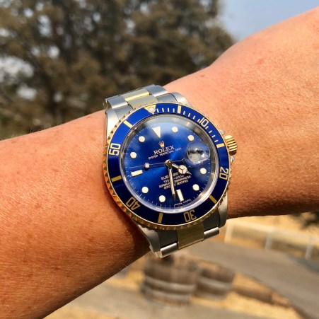 The Pair's New Rolex 16613 Submariner