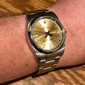 PG's 34mm Rolex Oyster Perpetual