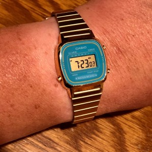 PG's inexpensive (just don't call it a beater!) gold Casio