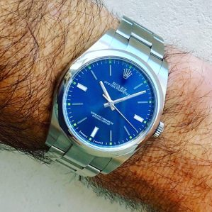 Ranch Racer's Rolex Oyster Perpetual 39