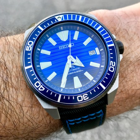 "RR's Seiko SRPC93 ""Save The Ocean"""