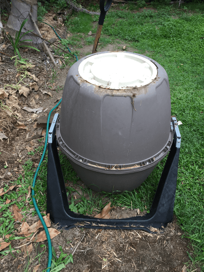 Tumbler Composter - affectionately named R2D2