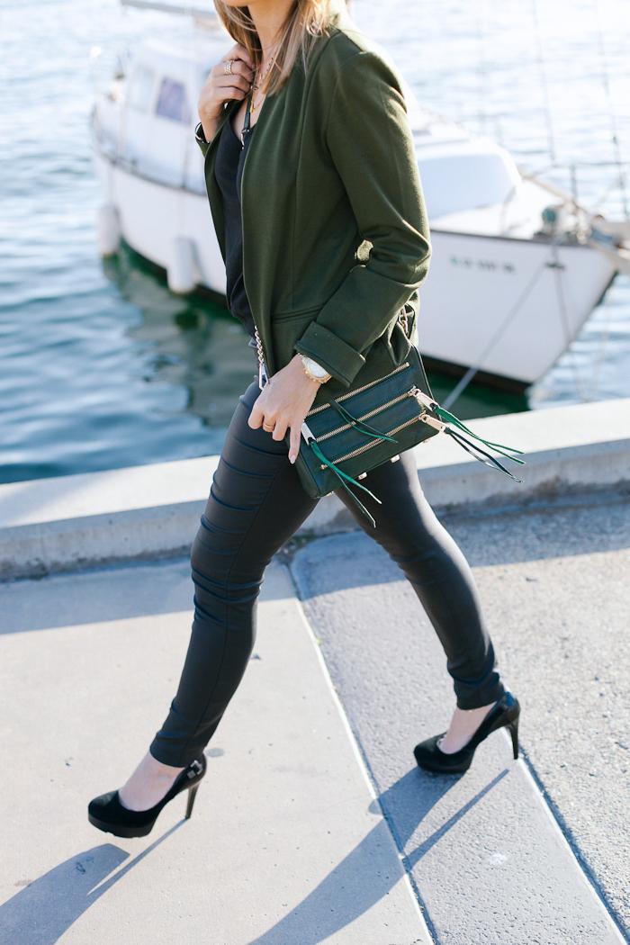 Walking Rebecca Minkoff Olive Bag Crossbody