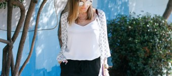 Black and White Summer Outfit
