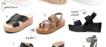 The Flatform Sandal Trend