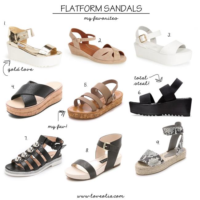 flatform sandals