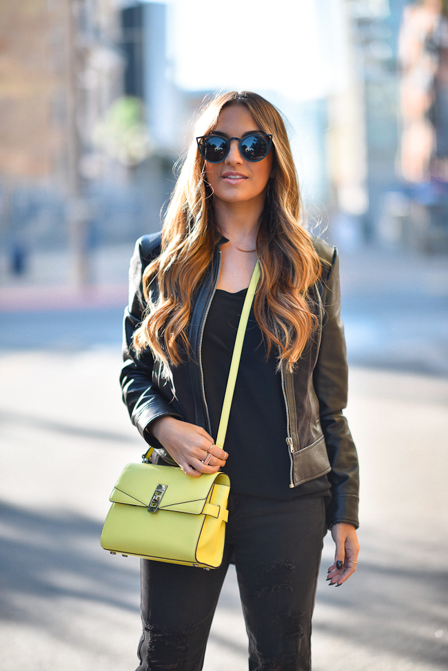 Black Tart Jacket ZeroUV sunglasses