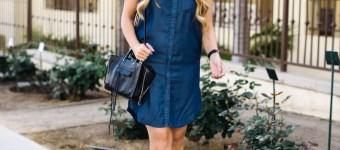 Sleeveless Shirtdress | YMI Jeans