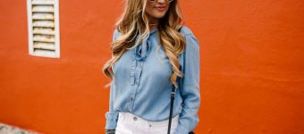 Chambray Front Tie