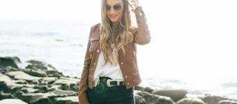 Cognac Leather Jacket
