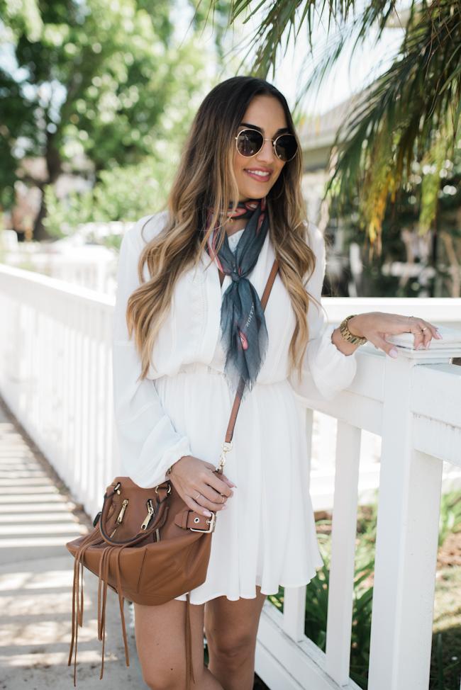 Rebecca Minkoff White Dress-5