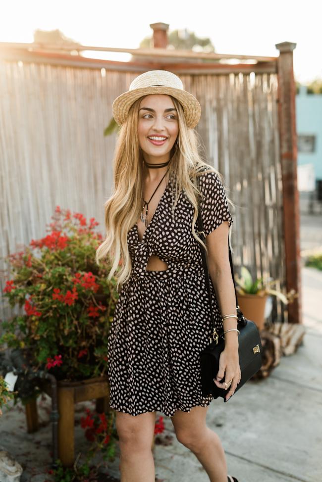 TOPSHOP Leopard Print Dress-14