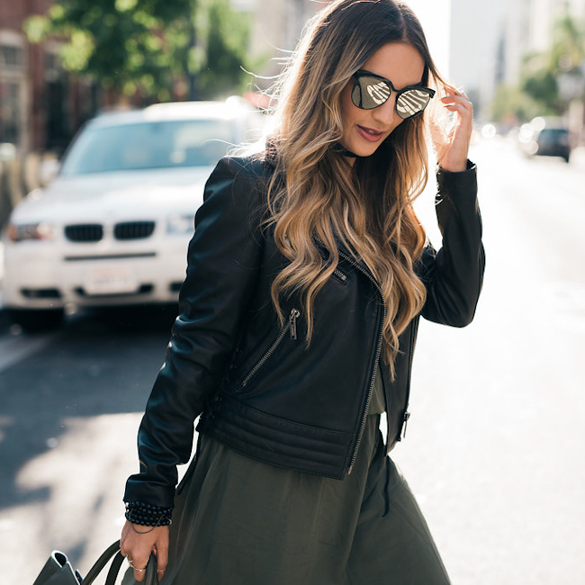 express olive dress