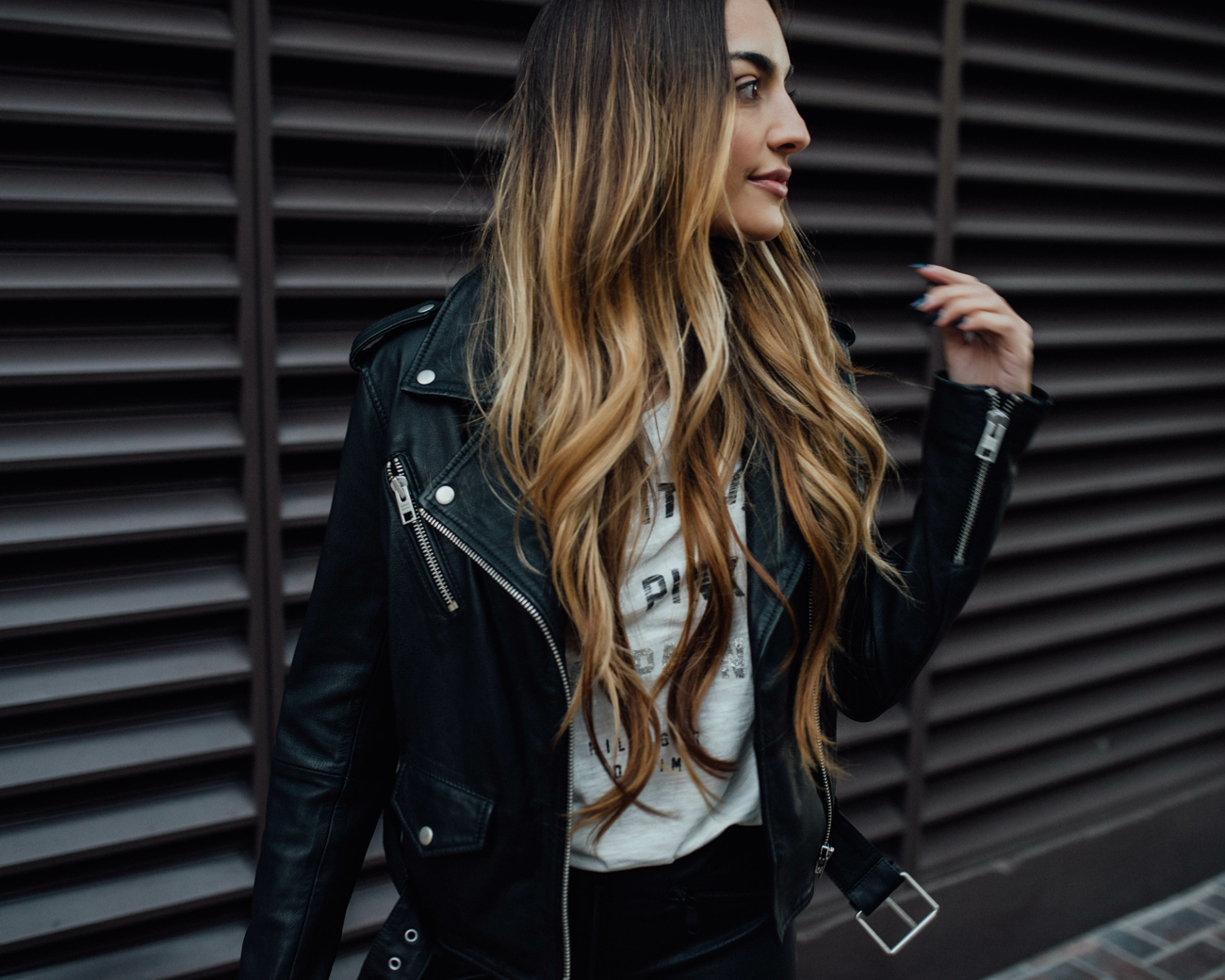 The Rolling Stones Leather Jacket