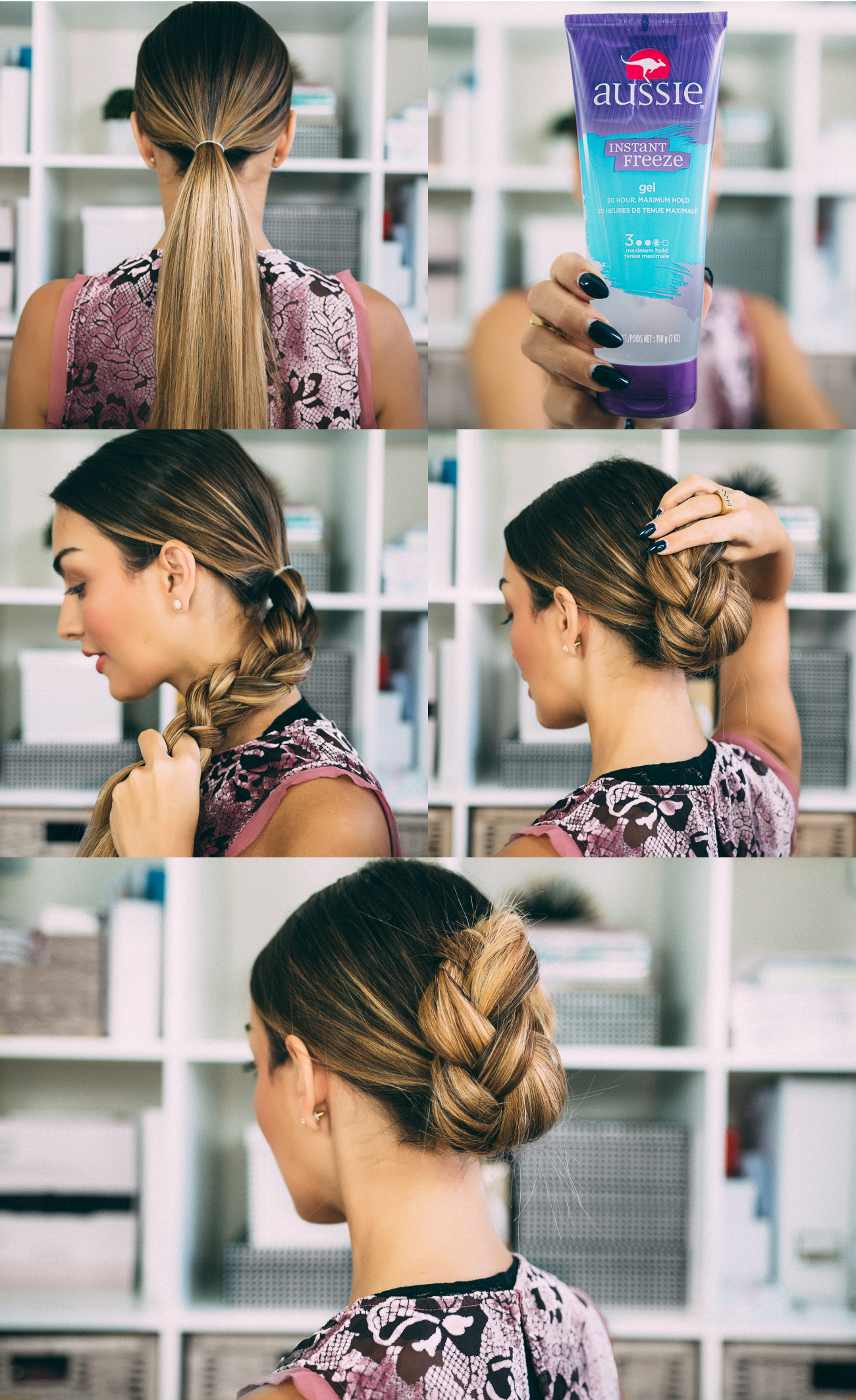 Easy Holiday Updo