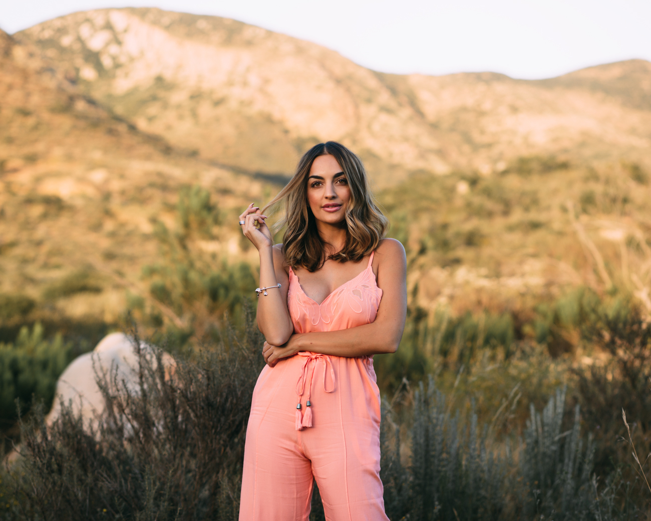 Coral Jumpsuit Free People How Blogging Improved My Life