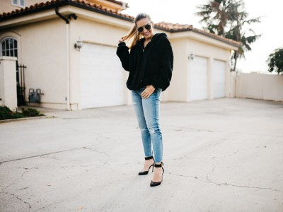 Dressing Up a Casual Sweater