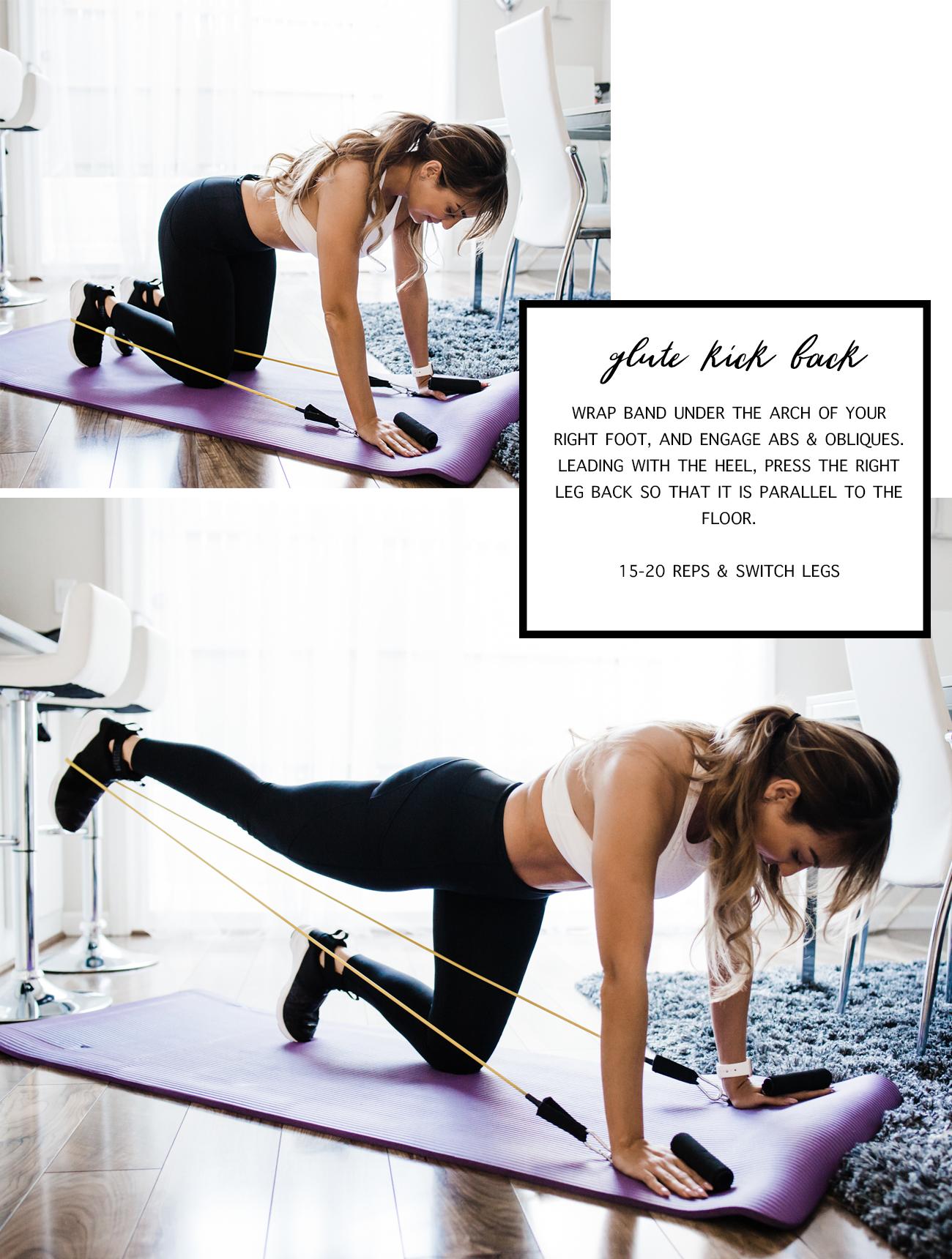 workout 3 glute kick back