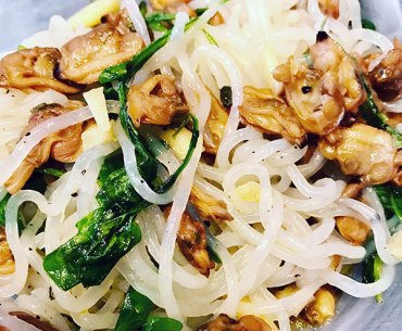 Seafood Shirataki Noodles Low Carb Recipe