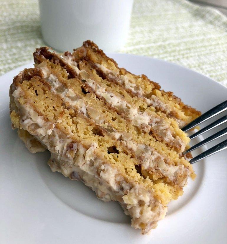 Annushka Russian Cake Slice
