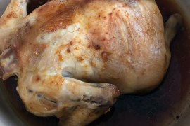 Easy Roasted Chicken with Paprika