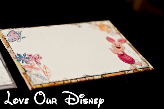 DIY Disney Autograph books