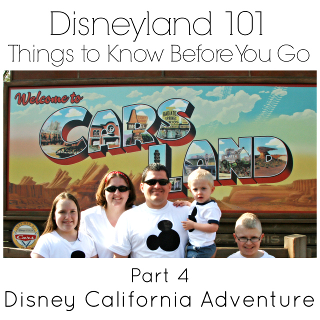 Disneyland 101 {Part 4} Disney California Adventure