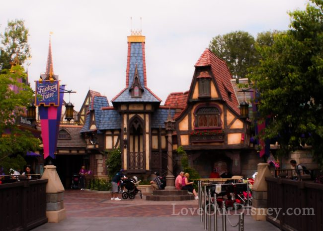 Princess Fantasy Faire in Disneyland