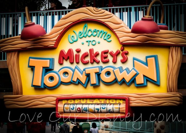 ToonTown in Disneyland Planning Guide