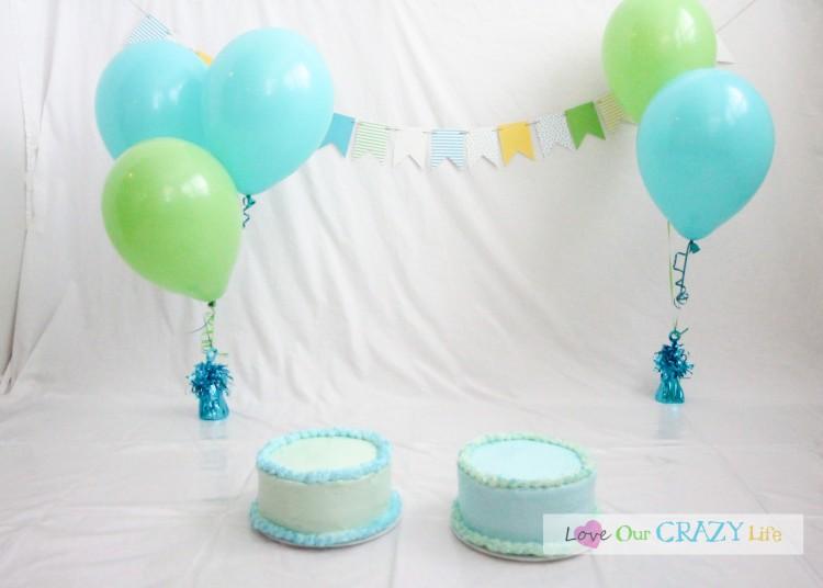 diy birthday and cake