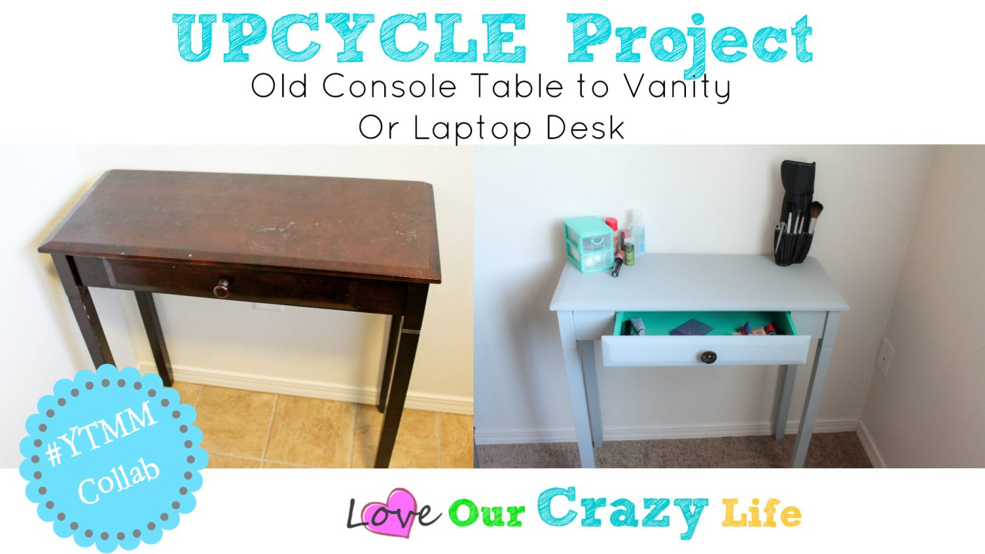 the dump sofa table how to install new legs console upcycle this crazy adventure called life