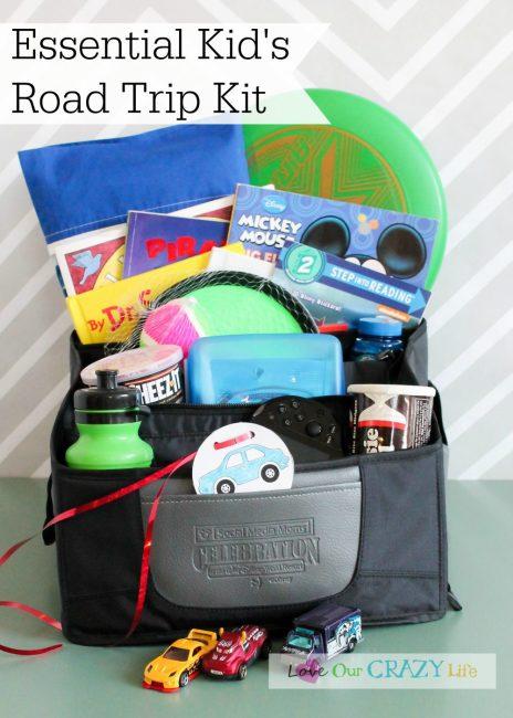 The Essential Kid's Road Trip Kit