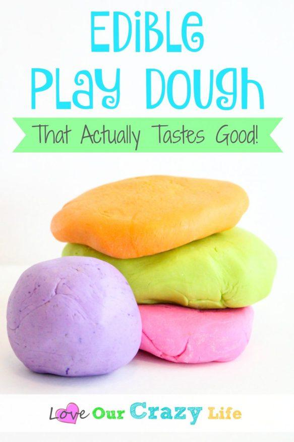 Edible Play Dough That Tastes Good