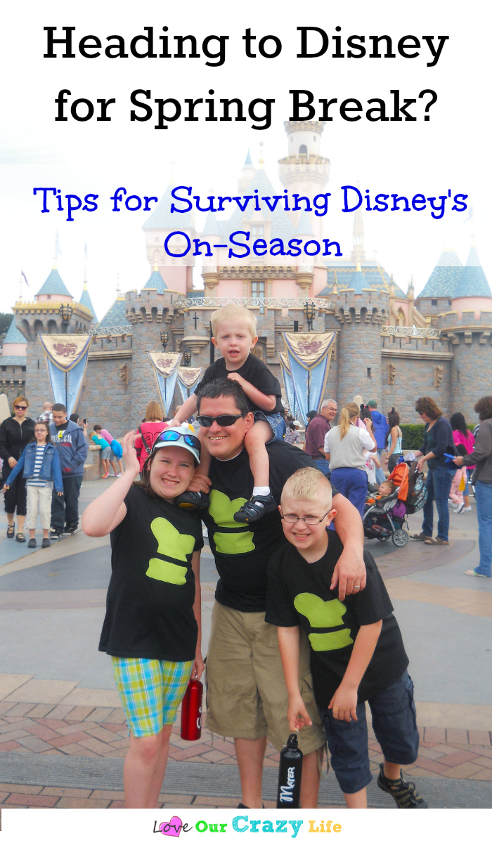 Taking a vacation to Disney during spring break, summer or Christmas break? Check out these must read tips for surviving Disneyland crowds