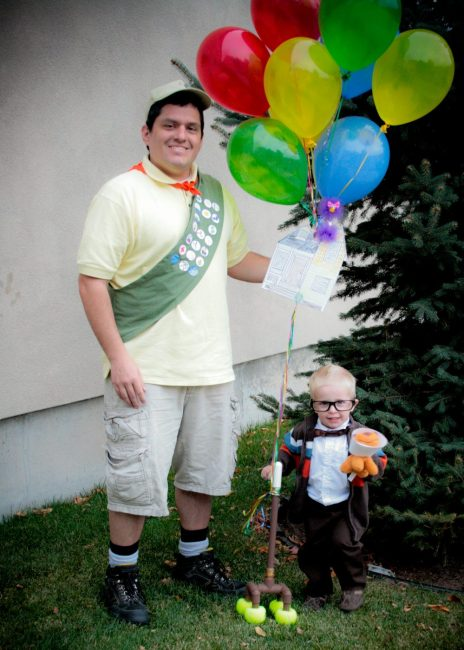 DIY Father Son UP Costume for under $20