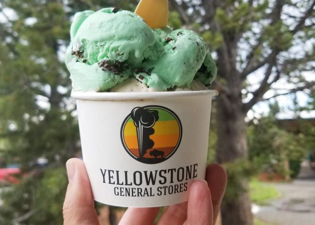 Yellowstone ice cream
