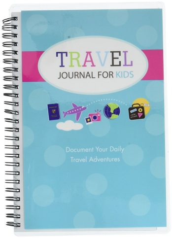 travel gifts for kids travel journal