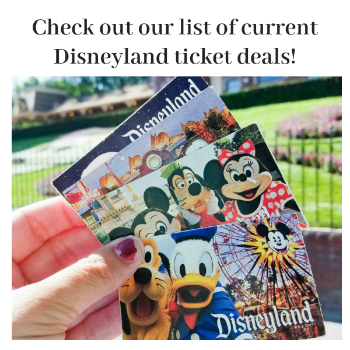 Disneyland Ticket Deals