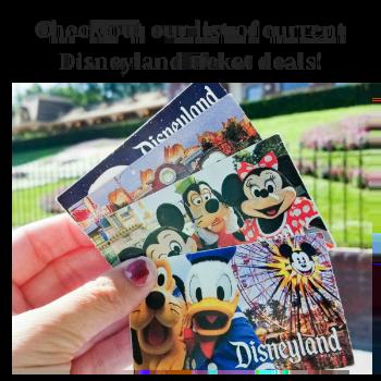 Disneyland Ticket Deals